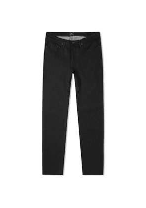 Paul Smith Tapered Fit Lightweight Stretch Jean Rinse Black