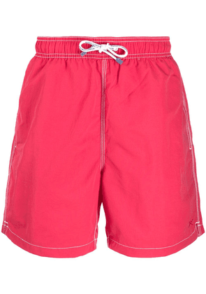 Hackett Solid Volley swimming shorts - Red