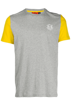 Band Of Outsiders colour block T-shirt - Grey