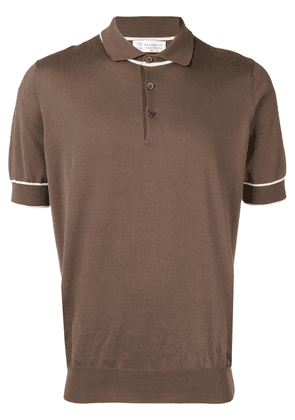 Brunello Cucinelli classic polo shirt - Brown