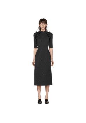 Erdem Black Margaretta Dress