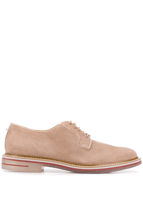 Brimarts perforated Derby shoes - Neutrals