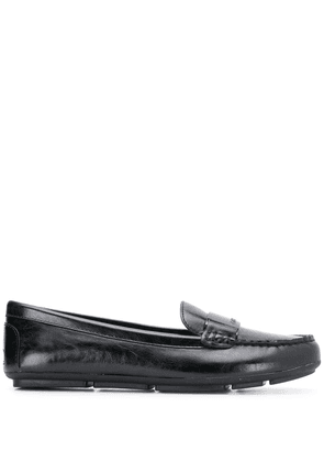 Calvin Klein engraved loafers - Black