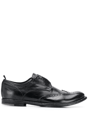Officine Creative Archive laceless Oxford shoes - Black
