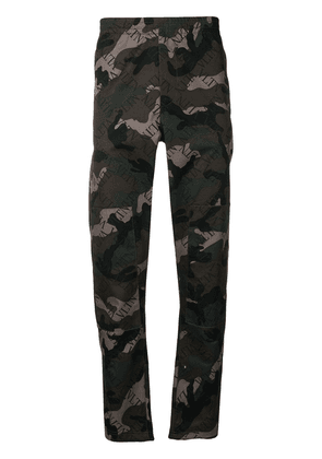 Valentino VLTN camouflage track pants - Green