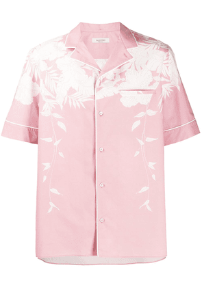 Valentino Hawaii Blue shirt - Pink
