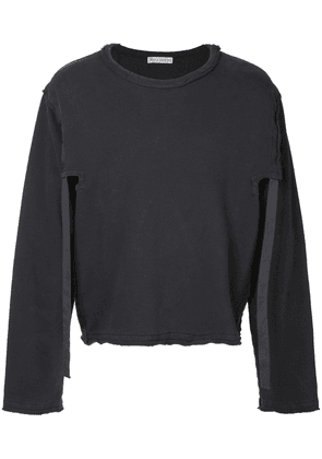 JW Anderson raw edge sweatshirt - Grey