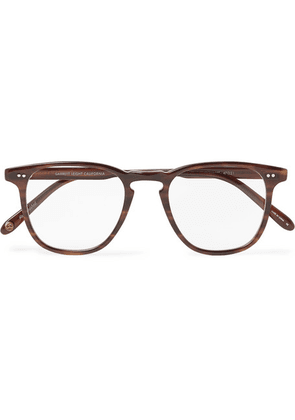 Garrett Leight California Optical - Brooks 47 D-frame Acetate Optical Glasses - Brown