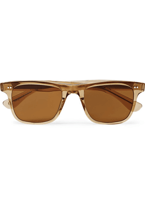 Garrett Leight California Optical - Wavecrest Square-frame Acetate Polarised Sunglasses - Brown