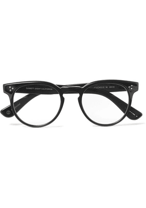 Garrett Leight California Optical - Boccaccio 48 Round-frame Acetate Optical Glasses - Black