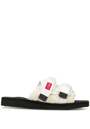 John Elliott moto slides - White
