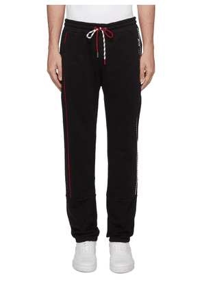 Piped outseam sweatpants