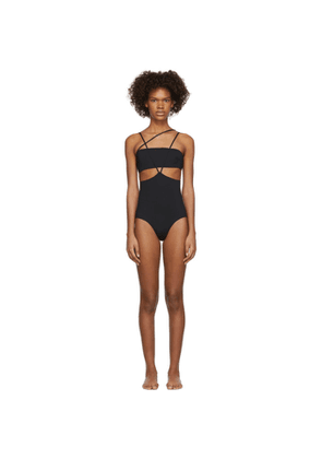Rudi Gernreich Black Classic Monokini One-Piece Swimsuit