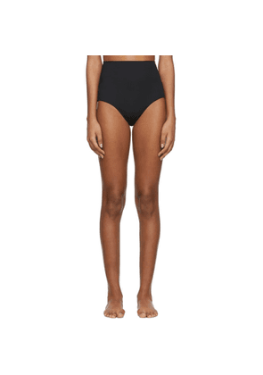 Rudi Gernreich Black High Waist Bikini Bottom