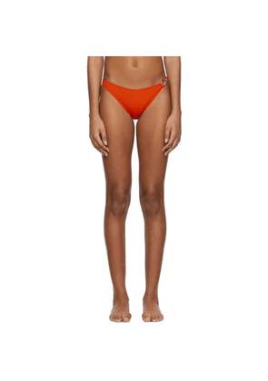 Rudi Gernreich Orangle Buckle Bikini Bottom