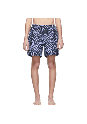 Tiger of Sweden Navy & Blue Usper Swim Shorts