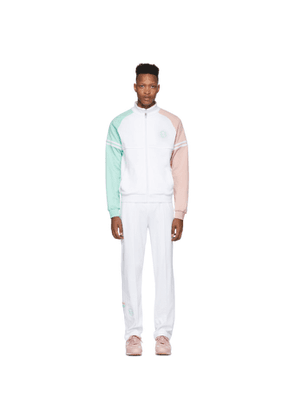 Band of Outsiders White Sergio Tacchini Edition Stripe Track Suit