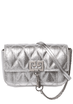 Mini Pocket Quilted Shoulder Bag