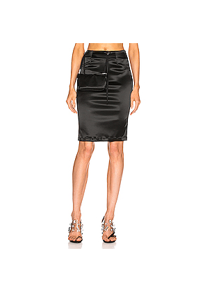 1017 ALYX 9SM Stylo Skirt with Pouch in Black