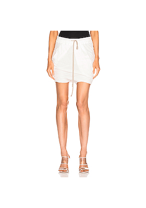 DRKSHDW by Rick Owens Buds Skirt in Neutral