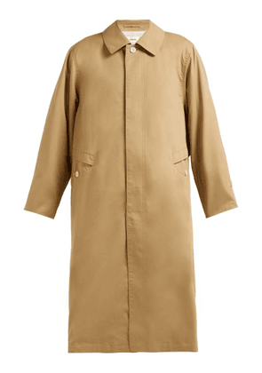 Chimala - Peach Single Breasted Cotton Twill Trench Coat - Womens - Camel