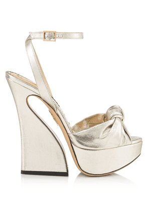 Charlotte Olympia Sale Women - VREELAND SILVER LAME 39,5