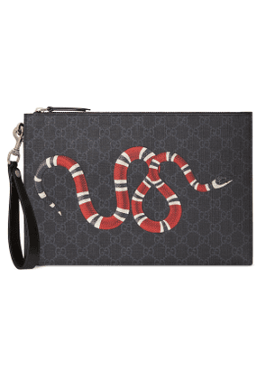 GG pouch with Kingsnake