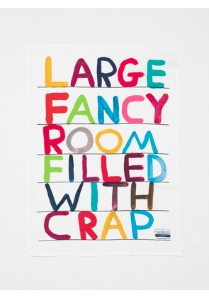 Third Drawer Down David Shrigley Fancy Room Tea Towel