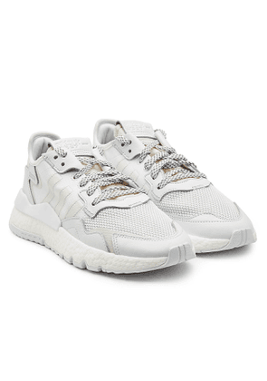 Adidas Originals Nite Jogger Sneakers with Leather and Mesh
