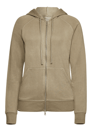 Majestic Zipped Hoody with Cotton