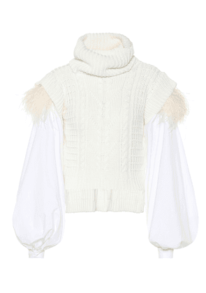 American Folklore cotton-blend sweater