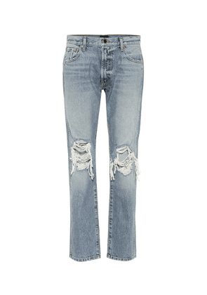 The Kyle low-rise distressed jeans