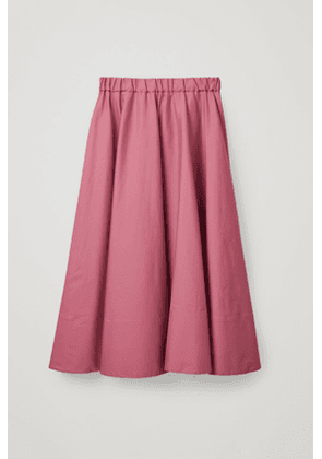 LONG CIRCLE-CUT SKIRT