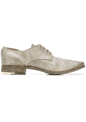 Premiata metal heel derby shoes - Grey