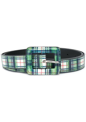 B-Low The Belt checked buckle belt - Green