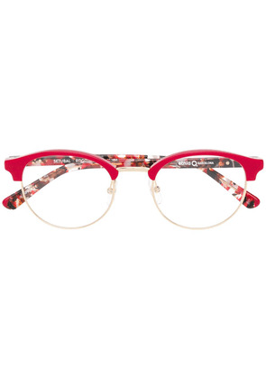 Etnia Barcelona Setubal round glasses - Red