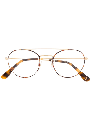 Etnia Barcelona Echo Park round glasses - Brown