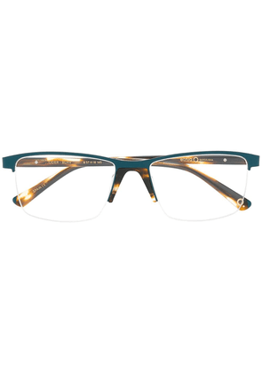 Etnia Barcelona Oder rectangular frame glasses - Blue