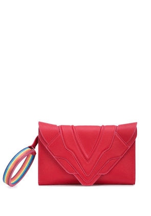 Elena Ghisellini Rainbow hoop shoulder bag - Pink