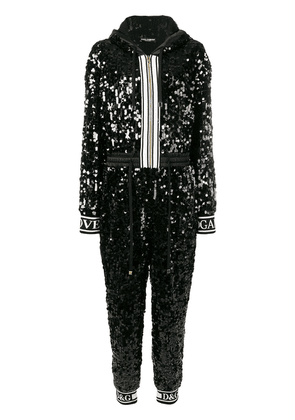 Dolce & Gabbana sequin jumpsuit - Black