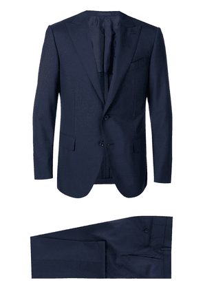Caruso two-piece suit - Blue