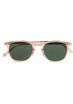 Garrett Leight California Optical - Kinney 47 Square-frame Acetate Sunglasses - Pink