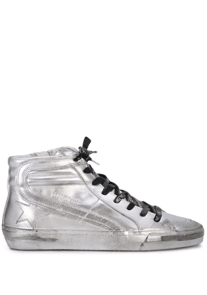 Golden Goose Limited Edition hi-top sneakers - Silver