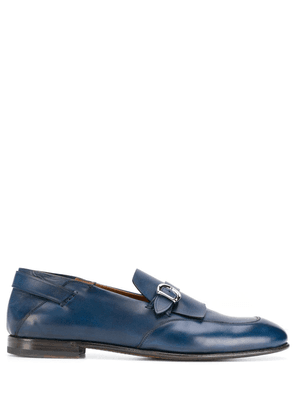 Silvano Sassetti buckled loafers - Blue