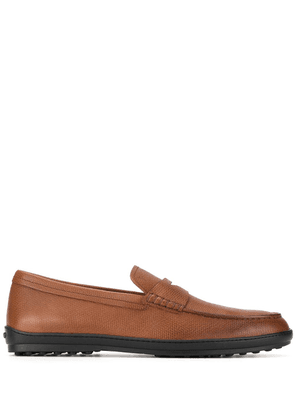 Tod's classic Gommino loafers - Brown