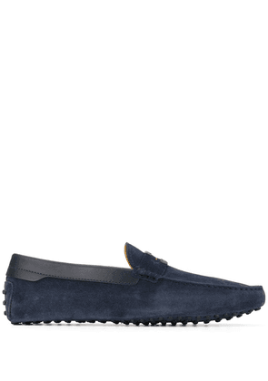 Tod's Tod's for Ferrari Gommino driving shoes - Blue