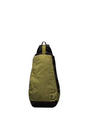 Stone Island Chartreuse one-shoulder backpack - Green