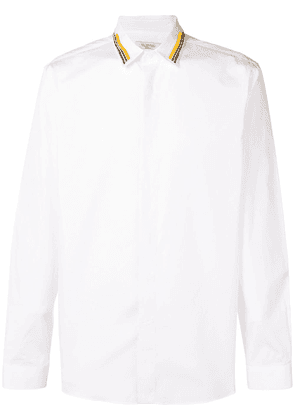 Valentino beaded collar shirt - White
