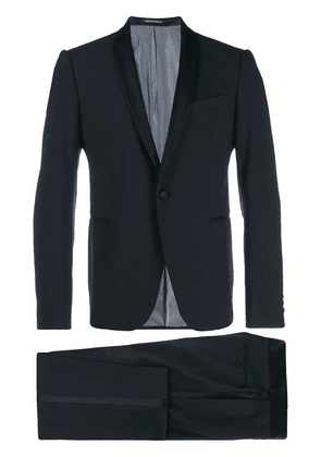 Emporio Armani shawl lapel dinner suit - Blue