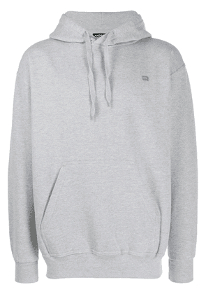 Andrea Crews map print hoodie - Grey